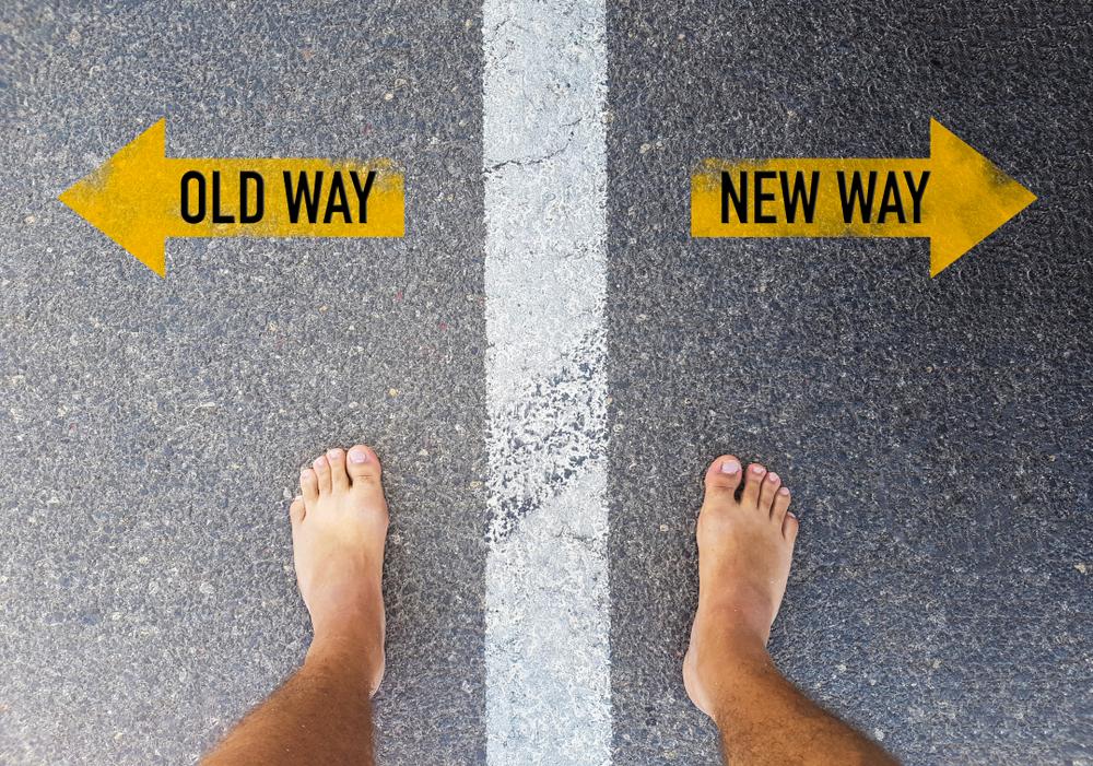 古いやり方か新しいやり方か
