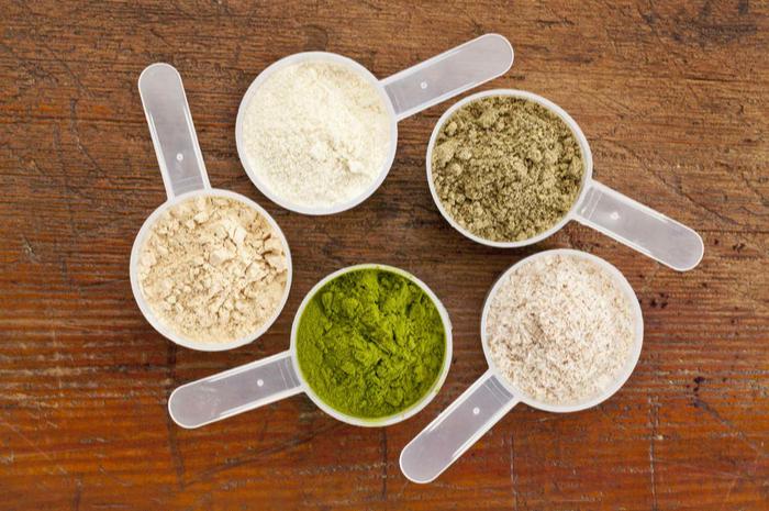 5種類のプロテイン